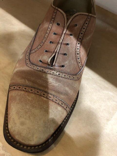 かすれもやし靴