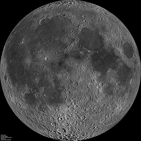 月の表画像