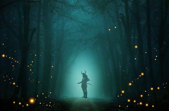 妖刀ムラマサを持つ侍イメージ